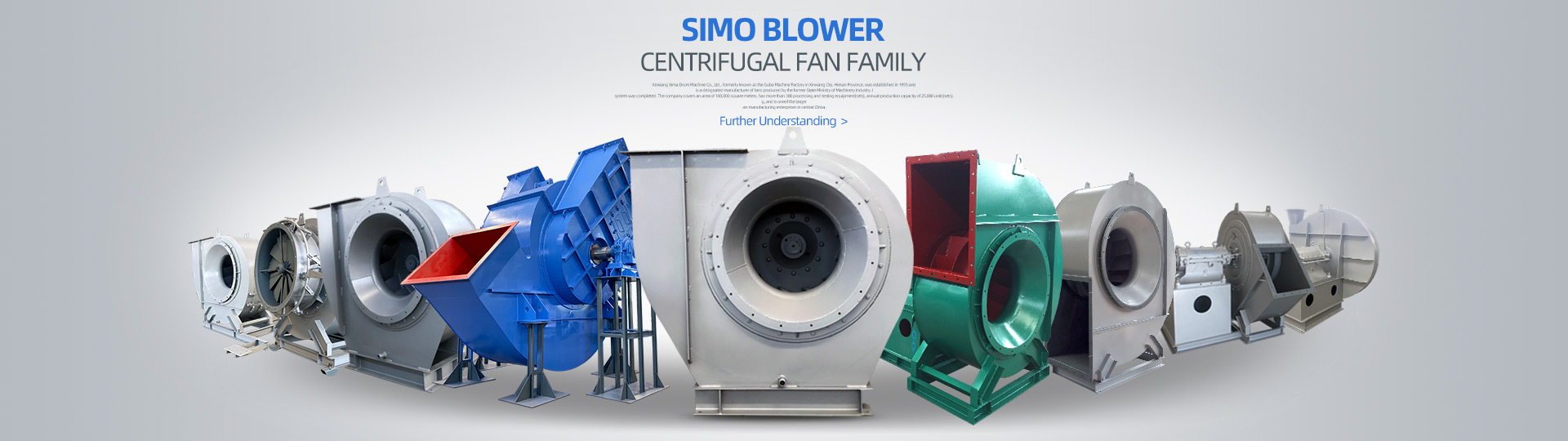 A world leader in the manufacturing of Centrifugal Fan