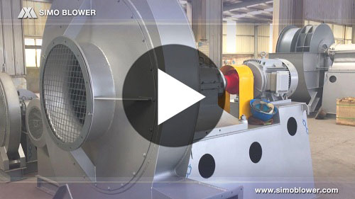 SIMO BLOWER industrial centrifugal fan stick at ordinary work