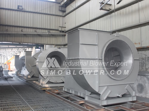 High Pressure Blower Fan : Centrifugal fan product export xinxiang simo blower